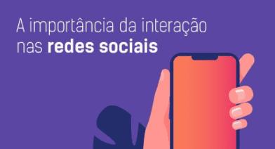 interação nas redes sociais